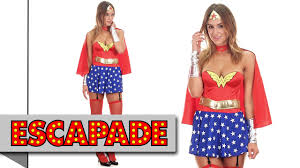 wonder woman costume fancy dress costume ideas youtube