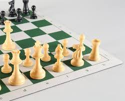 quality club chess set on flex pad board u2013 chess house