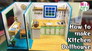 dollhouse kitchen furniture diy miniature dollhouse kitchen how to make miniature kitchen