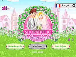 jeux gratuit de mariage accro du shopping mariage un des jeux en ligne gratuit sur jeux