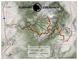 Green River Utah Map by Course Map And Description Crusher In The Tushar Road Dirt