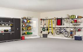 home design interesting rubbermaid fasttrack with rack storage enchanting garage design with concrete flooring and rubbermaid fasttrack plus floating shelves