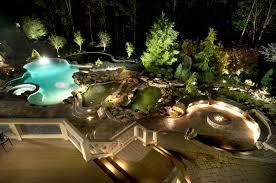 Backyards With Pools Ultimate Luxury Pool U0026 Backyard In Potomac Md Land U0026 Water