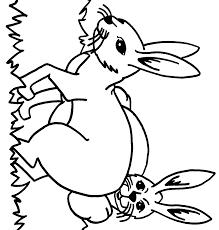 à imprimer animaux lapin numéro 7722
