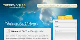 html layout under psd to html converting a stylish design lab psd layout in to html