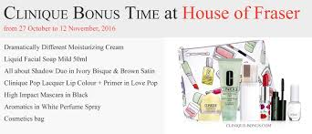 clinique black friday clinique bonuses in the uk and ie october 2017