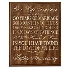 30 wedding anniversary gift 30 year wedding anniversary gift ideas gift ideas