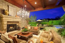 Outdoor Fireplace Patio Designs Luxury Tuscan Style House Interior Exterior Pictures