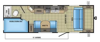 jay flight trailers floor plans 2017 jay feather 7 travel trailer floorplans u0026 prices jayco inc
