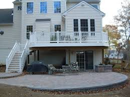 Deck With Patio Designs by Patio Home Designs Home Design Ideas