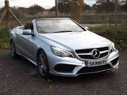used mercedes convertible used mercedes benz e class convertible for sale motors co uk
