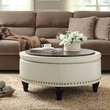 small round tufted ottoman brilliant ideas of coffee tables round tufted ottoman coffee table