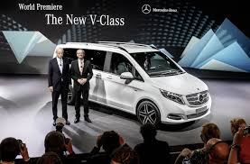 mercedes minivan 2014 mercedes benz v class it is literally the mercedes benz of