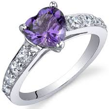 amethyst rings images Amethyst ring sterling silver heart shape sr9810 jpg
