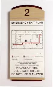 Fire Evacuation Plan Template For Office by 7 Best Vector Conversion Of Evacuation Plans Site Plans Exit