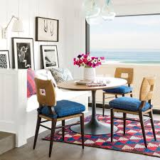 16 creative gallery wall ideas coastal living like the socal surf town it inhabits this dining nook designed by peter dunham