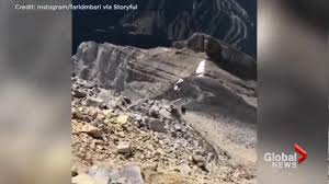 Bc Wildfire Global News by Smoke From Wildfires Rises Above Banff Mountain Tops Youtube