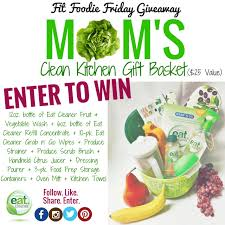 mom u0027s day clean kitchen gift basket u2013 fit foodie friday giveaway