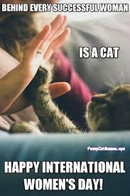 Happy Day Memes - happy international women s day funny cat meme