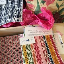 Lisa Fine Textiles by News And Interior Design Industry Information Hand Blocked And