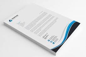 letterhead template by graphics solution design bundles