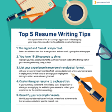 Professional Resume Writing Tips Top 5 Resume Writing Tips Your Career Intel