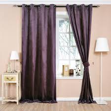 Purple Room Darkening Curtains Purple Curtain Made Up Of Polyester For Room Darkening