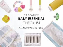 expecting a baby here u0027s the checklist all new parents need