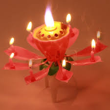 lotus birthday candle xunzhe 1pcs happy birthday candle blossom lotus flower candles