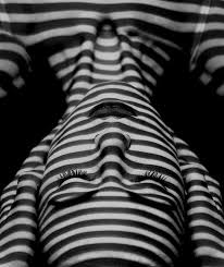 pattern photography pinterest black and white stripy shadows on a face artsy pinterest face