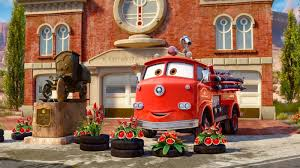 cars movie dan the pixar fan cars red and stanley movie moment