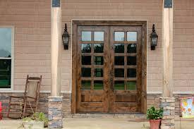 Patio Door Design Captivating Wood Patio Doors Exterior Gallery Ideas House