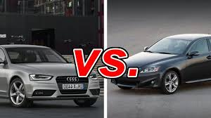 audi a4 vs lexus is350 audi a4 vs lexus is 250 carsdirect