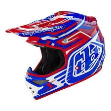 Troy Lee Designs 2016 Scratch Air Helmet Red Blue Available At
