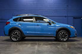 subaru crosstrek lifted blue 2016 subaru xv crosstrek limited awd northwest motorsport