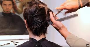 step cutting hair how to cut style hair men s faux hawk