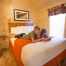 I Just Want Head In A Comfortable Bed Cabin And Vacation Rentals Deluxe Cabin Camping Koa Camping