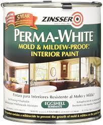rust oleum 2774 zinsser interior eggshell perma white house