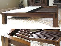 Diy Queen Platform Bed Frame - queen bed frame wood image of wood queen size bed frame with