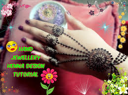 best and beautiful jewellery ornament inspired henna design