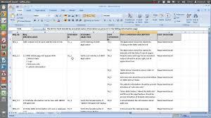 Excel Test Plan Template Ieee Std 829 Test Plan Scenario Template