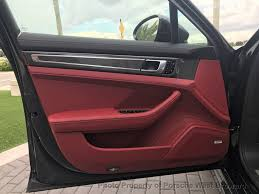 Porsche Panamera Red Interior - 2018 new porsche panamera turbo awd at porsche west broward