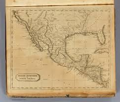 Spanish Map Of North America by Spanish Dominions In North America David Rumsey Historical Map