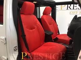 seat covers jeep wrangler 2013 2017 jeep wrangler jk 4dr seat covers syn leather custom