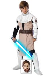 star wars costumes kids deluxe obi wan kenobi costume child star wars costumes