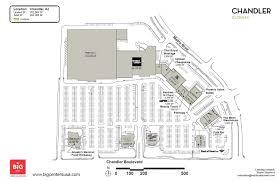 Chandler Fashion Center Map Chandler Gateway Big Shopping Centers
