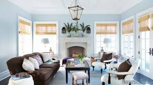 blue gray white living room an excellent home design
