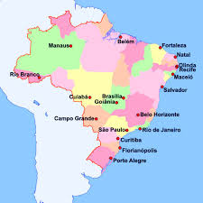 city map of brazil states by the literal meaning of their name