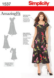Plus Size Fashion Stores Simplicity 1537 Misses U0027 And Plus Size Amazing Fit Dress Sewing