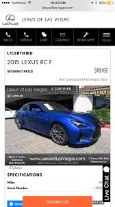 price for lexus rc f what is a good price for this 40k mile 2015 rcf clublexus
